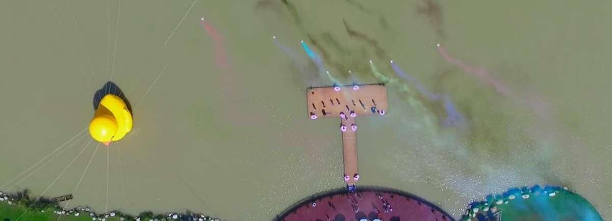慶祝十九大新華網航拍優秀作品展——江蘇鹽城