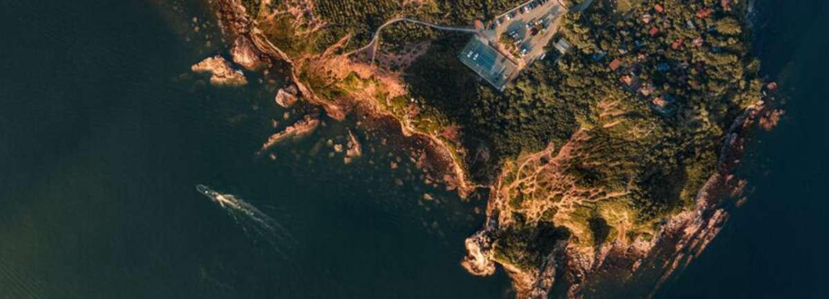 慶祝十九大新華網航拍優秀作品展——深圳大鵬半島
