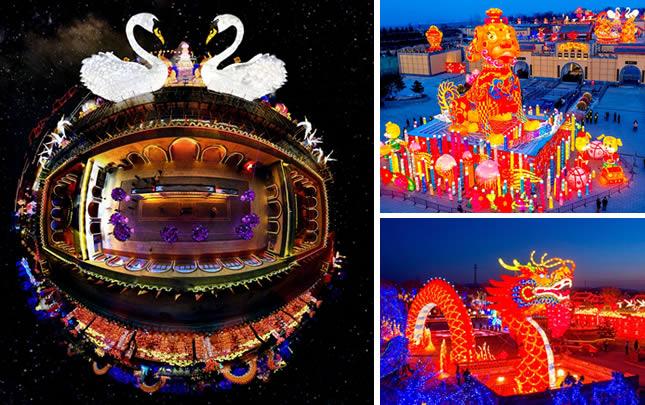 【飛閱中國】陜州地坑院:流光溢彩 迎新年