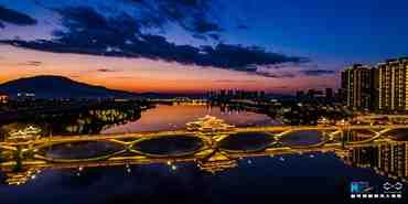 航拍漳州:夜景原來這樣美