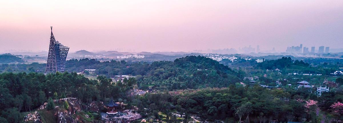 航拍第十二屆中國(南寧)園林博覽會