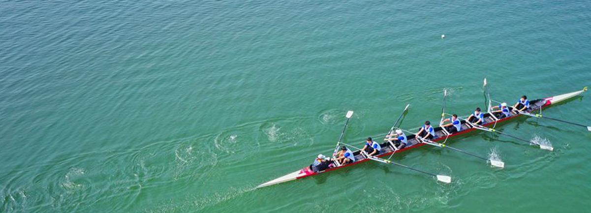 鄭州·龍子湖賽艇挑戰賽開賽