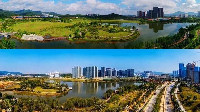 中新廣州知識城今昔對比看變化