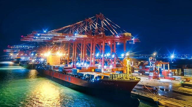 瞰南沙港:一路向海 揚帆遠航