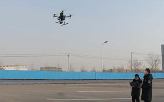 無人機助力河北沙河市生態環境監測
