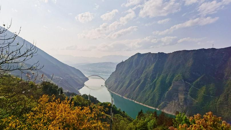 重慶巫山:峽江煙雲美如畫