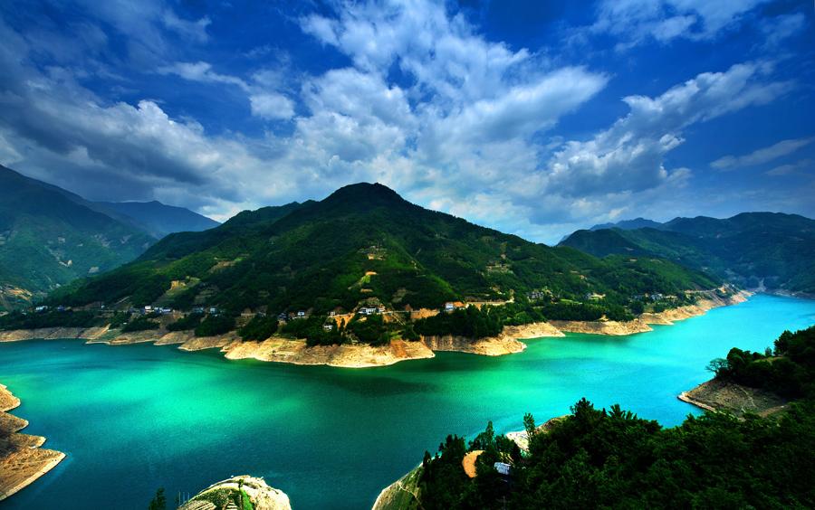 重慶城口:一幅奇俊清幽的山水田園畫
