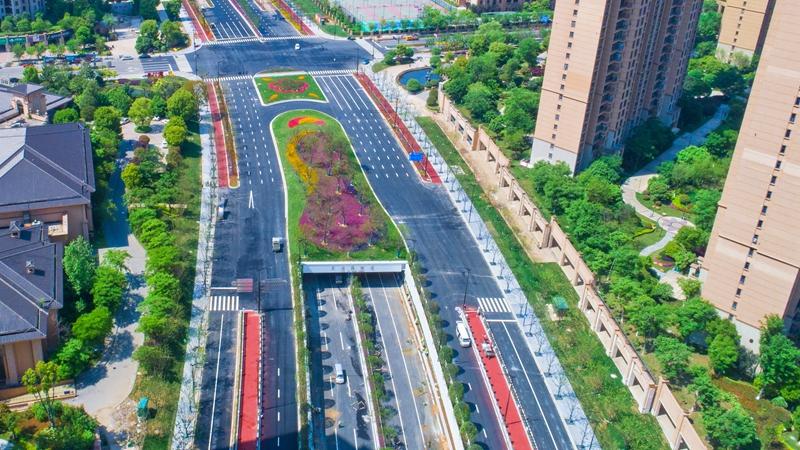 """風景如畫!這條""""高顏值""""橫江大道""""五一""""即將通車"""