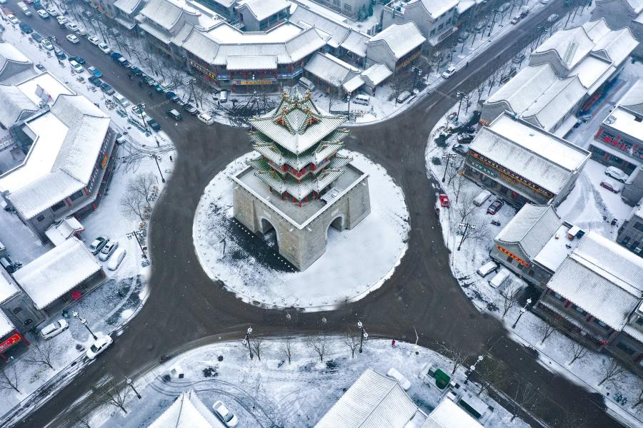 """【""""飛閱""""中國】一場雪,一座城"""