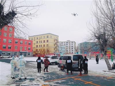 無人機顯身手:為曾經的重點管控區域外環境消殺