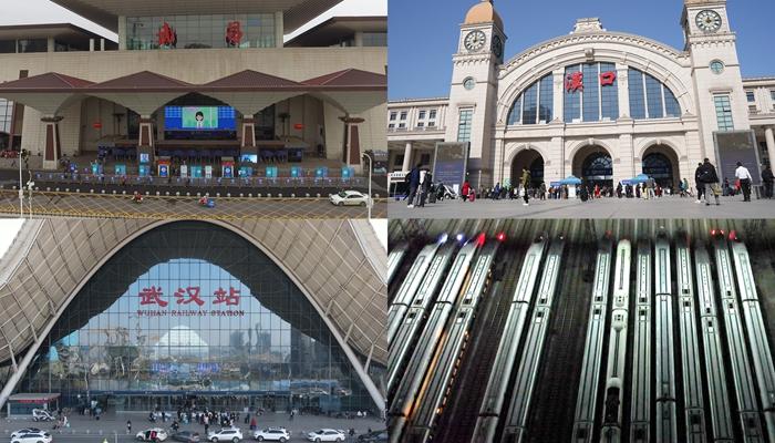 走進武漢三站一基地 今年春運不一樣