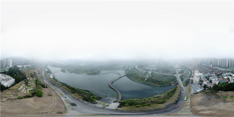 【江河頌·烏江之變】航拍明湖國家濕地公園