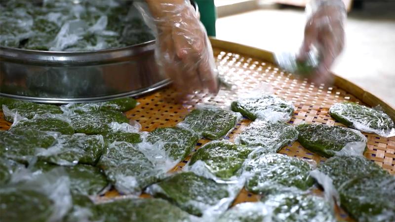 邀您品嘗春天裏的美食——華安土樓鼠麴粿