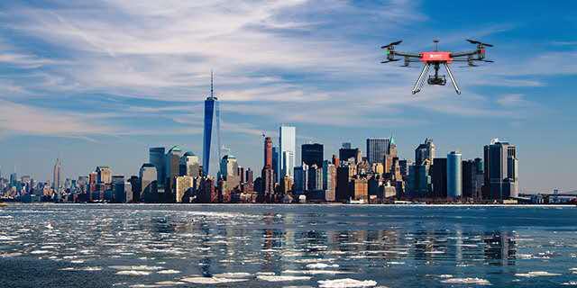 刷新2017行業新紀錄 信中利領投易瓦特無人機