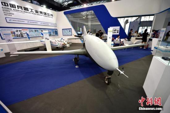 外媒:中國展覽無人機武器 能當導彈攻擊目標