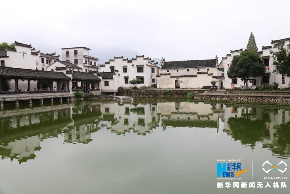 航拍傳説中的孫權故裏 杭州龍門明清建築群