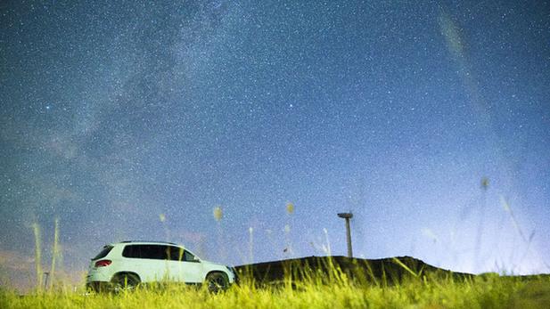 延時19s日出+星空 你見過嗎?