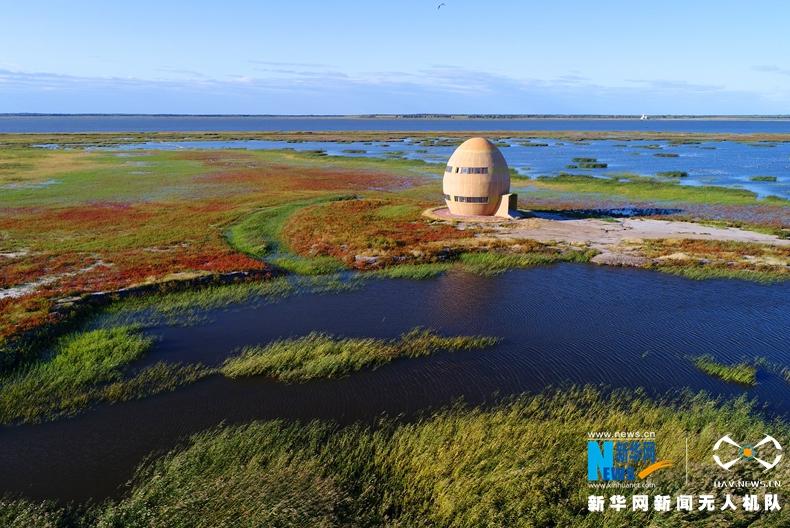 紅草 藍湖 觀鳥樓——航拍國際濕地名錄中的莫莫格