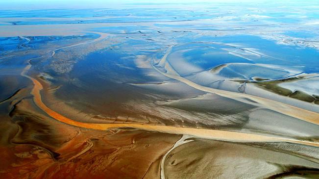 無人機之旅|全國首個灘涂保護區 愛上鹽城的航拍在這兒