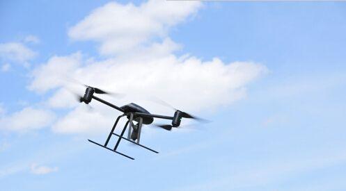 英新款軍用概念無人機可自由切換飛行模式