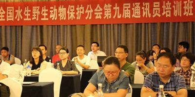 新華網無人機助力水生野生動物保護分會通訊員培訓