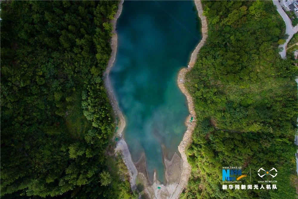 無人機之旅|半城山色半城湖 航拍重慶唯美湖泊