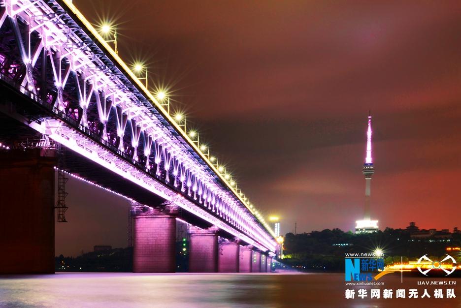 無人機之旅|夜與晝——航拍長江第一橋