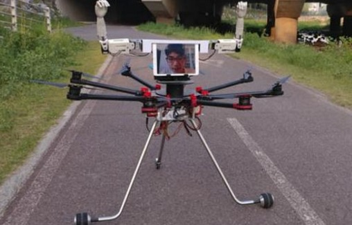 路上移動的無人機 你也可以DIY