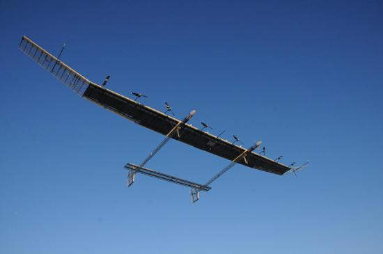 """俄羅斯首架太陽能無人機""""鸛""""或年底前試飛"""