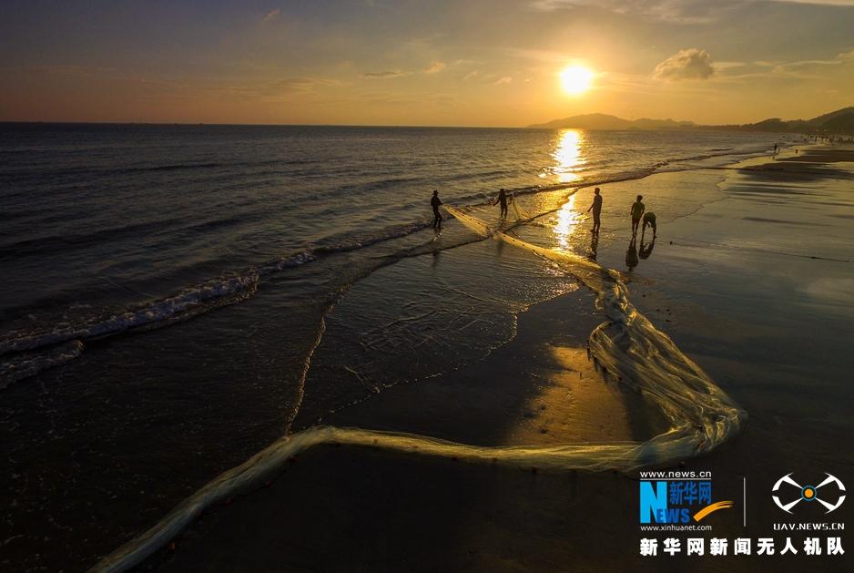 無人機之旅|聽漁歌唱晚 愛上惠州雙月灣
