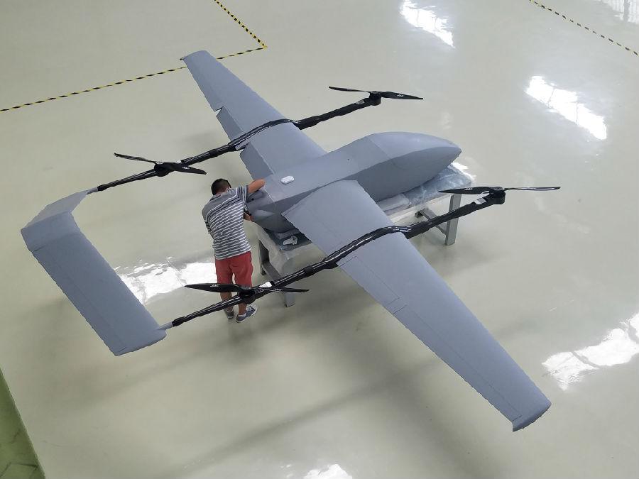 載荷20公斤-40公斤無人機首飛成功