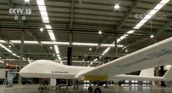 浙江臺州:中高空大型無人機總裝下線