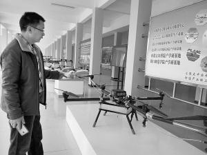 """""""中國無人機生産第一縣"""" 總投資5億元"""
