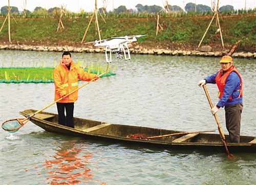 浙江湖州:治水引入無人機