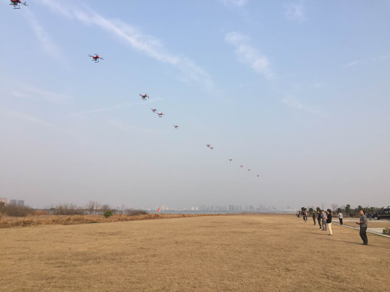 解密!1180架無人機在廣州《財富》全球論壇8分鐘表演背後
