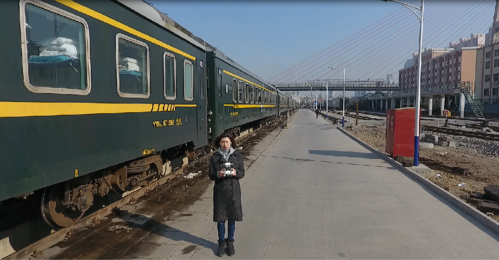 """我在春運備戰現場 航拍支南列車的""""醫生"""""""