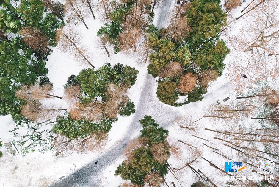 無人機之旅 | 愛上雪後武漢的航拍在這兒