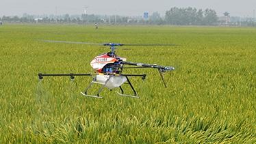 中國農村通過大數據追溯無人機作業