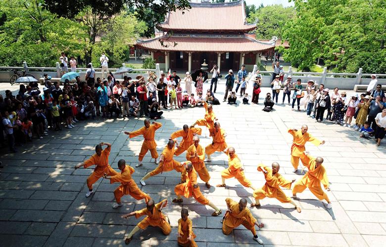 航拍泉州少林寺 感受禪武文化