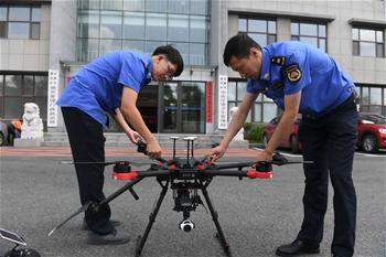 長春:無人機助力提升城管水平
