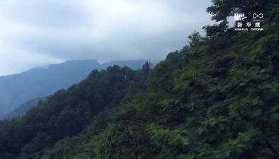 鳥瞰世界自然遺産地——貴州梵凈山